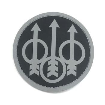 BERETTA Tactical Trident Black Patch (PATCHSWAT)
