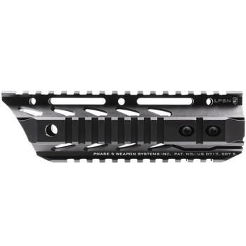 PHASE 5 WEAPON SYSTEMS 7.5in Lo-Pro Slope Nose Free Float Quad Rail (LPSN7.5)