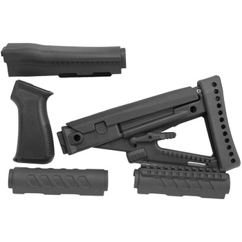 PROMAG Archangel OPFOR Series Black Polymer Buttstock Forend For Yugo PAP AK (AAPAP)