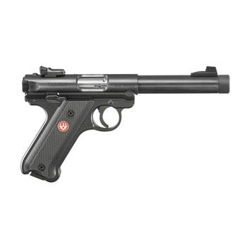 RUGER Mark IV Target 22 LR 5.5in TB 10+1rd Blued Steel Pistol (40178)