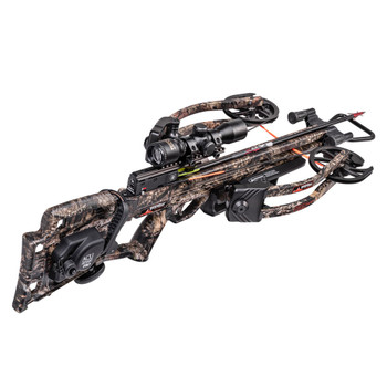 WICKED RIDGE RDX 400 Mossy Oak Break-Up Country Crossbow Package with ACUdraw PRO and Multi-Line Scope (WR19060-5532)