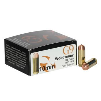 G9 AMMO 10mm 145Gr Woodsman Ammo (10MM-145)
