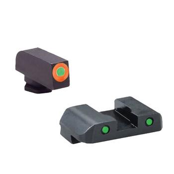 AMERIGLO Spartan Operator 3 Dot Night Sight Set for Glock 17/19/19X/26/45 Gen5 (GL-5446)