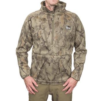 BANDED Heavy Tec Fleece NatGear 1/2 Zip Pullover (B1010026-NG)