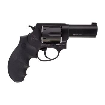 TAURUS Defender 856 38 Spl +P 3in 6rd Hogue Rubber Grip Matte Black Revolver (2-85631NS)