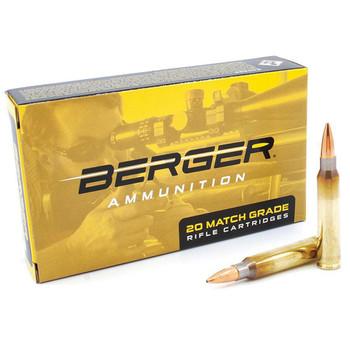 BERGER BULLETS Target 223 Rem 73 gr Boat-Tail 20rd Per Box Rifle Ammo (23020)