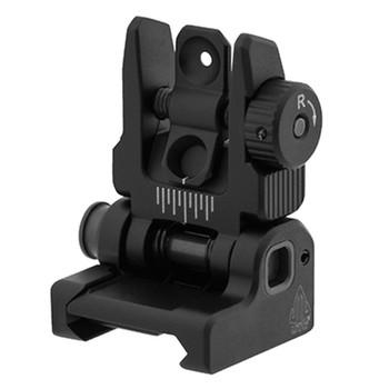 UTG ACCU-SYNC Spring-loaded AR15 Flip-Up Rear Sight (MNT-957)
