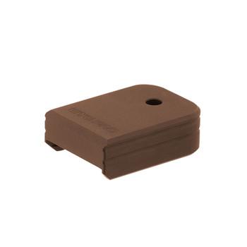 UTG PRO +0 Matte Bronze Aluminum Base Pad for Glock Small Frame (PUBGL01Z)