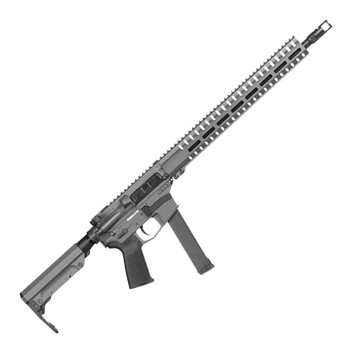 CMMG Resolute 300 9mm 16in 33rd Sniper Grey Semi-Automatic Rifle (99AE65A-SG)