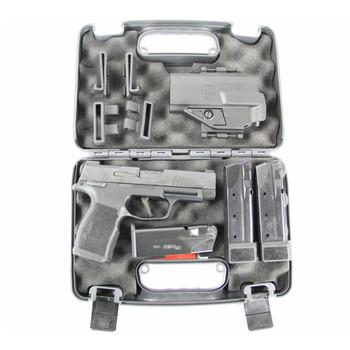 SIG SAUER P365XL MS TAC PAC 9mm 3.7in 12rd/15rd Semi-Automatic Pistol (365XL-9-BXR3-MS-TACPAC)
