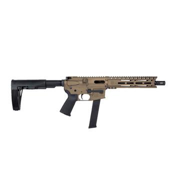 DIAMONDBACK DB9 9mm 10in 32rd Burnt Bronze Semi-Automatic AR Pistol (DB9RPMLBB10)
