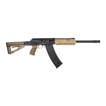 KALASHNIKOV USA KS-12TSFS 12Ga 18.25in 10rd Semi-Automatic Shotgun (KS-12TSFS-FDE)