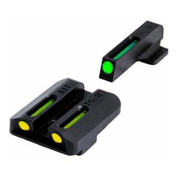 TRUGLO TFO Tritium/Fiber-Optic Handgun Sights for Kahr Arms Pistols (TG131AT1Y)