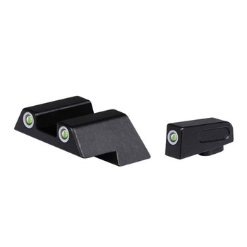 ATI 3 Dot Tritium Night Sight Set For Glock 17/19/20/21/22/23/26/27/29/30/34/35 (ATINSGLOLF)