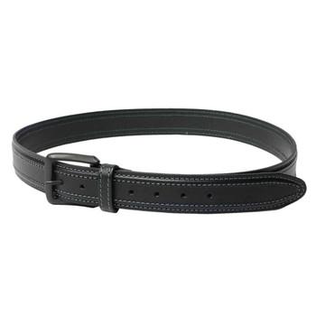 BERETTA Tactical Black Leather Belt, Size 34 (E02090)