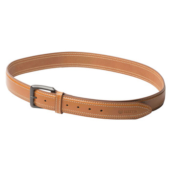 BERETTA Tactical Brown Leather Belt, Size 34 (E02096)