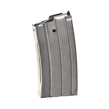 PROMAG Fits Ruger Mini-14 .223 20rd Nickel Plated Steel Magazine (RUG-A1N)