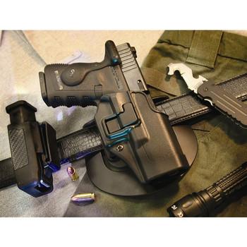 BLACKHAWK Serpa CQC S&W M&P,Sigma Right Hand Size 25 Holster (410525BK-R)