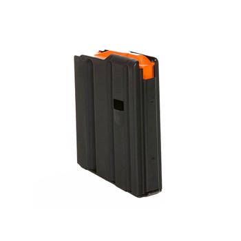 C-PRODUCTS AR15 223Rem 10rd Matte Black Magazine with Orange Follower (AR10SS)