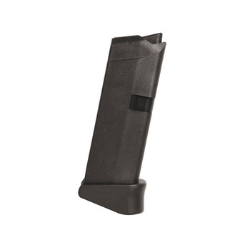 GLOCK G43 9mm 6rd Black Magazine with Extension (MF08844)