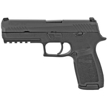 SIG SAUER P320 Black Nitron 4.7in 9mm 17rd Pistol (320F-9-B)