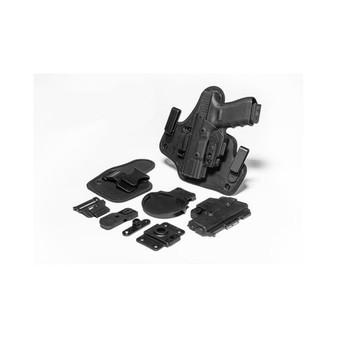 ALIEN GEAR ShapeShift Springfield XD Mod.2 3in Subcompact 9mm/.40 LH Black Holster Starter Kit (SSHK-0694-LH-R-15-XXX)