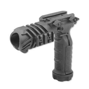 CAA Picatinny Black Flashlight Grip Adaptor (FGA)