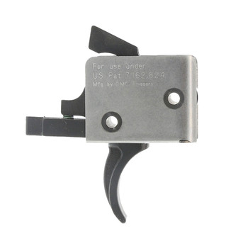 CMC TRIGGERS AR15/AR10 9mm Single Stage 3-3.5lb Curved Trigger (95501)