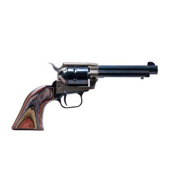 HERITAGE Rough Rider 22 LR,22 WMR 4.75in 6rd Single-Action Revolver (RR22MCH4)