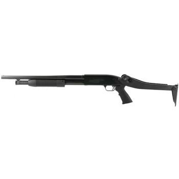 MOSSBERG Maverick 88 Security 12Ga 18.5in 6rd 3in Pump-Action Shotgun with Top-Folding Stock (31027)