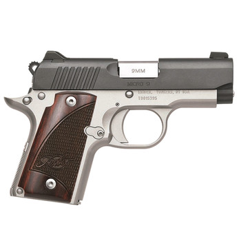 KIMBER Micro 9 Two-Tone 9mm Semi-Automatic Pistol (3300099)