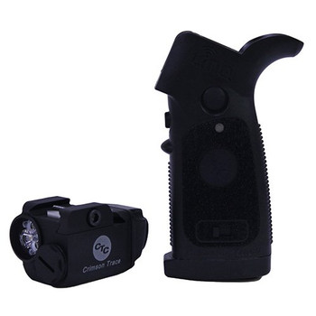CRIMSON TRACE LiNQ Wireless Green Laser Sight and Tactical Light for AR-Type Rifles (LNQ-100G)