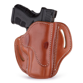 1791 GUNLEATHER BH2.4 Open Top Multi-Fit Signature RH Brown Holster (BH2.4-SBR-R)