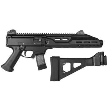 CZ Scorpion EVO 3 S1 9mm 7.7in Threaded Barrel 20Rd Black Pistol (91354)