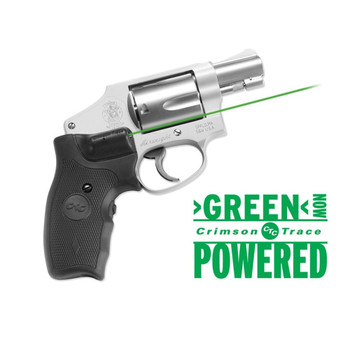 CRIMSON TRACE Lasergrips Smith & Wesson Green Laser Sight (LG-350G)
