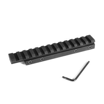 EVOLUTION GUN WORKS HD CZ 452,453,455,511 For 11mm Picatinny Base 0 MOA (80910)