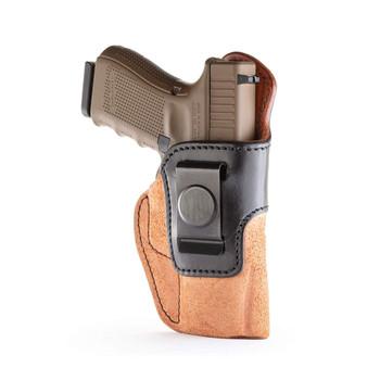 1791 GUNLEATHER Rigid Concealment Size 5 Brown/Black RH IWB Holster (RCH-5-BLB-R)
