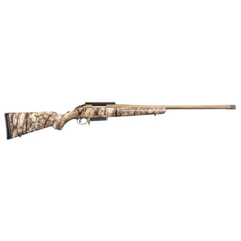 RUGER American 6.5 Creedmoor 22in 3Rd Bolt Action Camo Rifle (26925)
