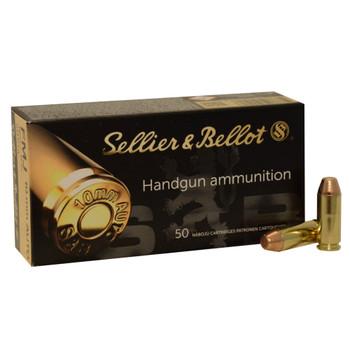 SELLIER & BELLOT 10mm 180gr Jacketed Hollow Point 50/1000 Handgun Ammo (SB10B)