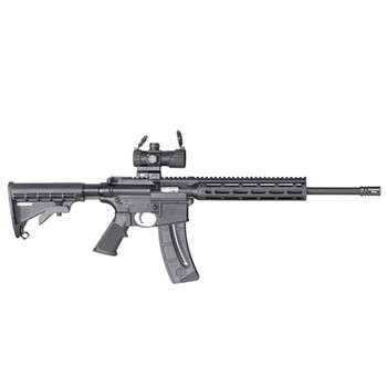 SMITH & WESSON M&P15-22 Sport OR 16.5in 25rd Rifle with Red/Green Dot Optic (12722)