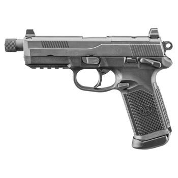 FN FNX-45 Tactical 45 ACP 5.3in Barrel Black 2x 15 Rd 3-Dot Night Sights Pistol (66966)
