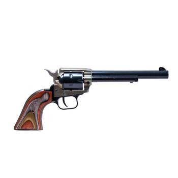 HERITAGE Rough Rider 22 LR,22 WMR 6.5in 6rd Single-Action Revolver (RR22MCH6)