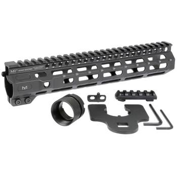 MIDWEST INDUSTRIES Combat Rail One Piece Free Float Handguard, M-Lok compatible (MI-CRM10.5)