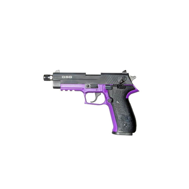 AMERICAN TACTICAL IMPORTS GSG FireFly HGA .22 LR 4in 10rd Purple Semi-Automatic Pistol (GERG2210TFFL)