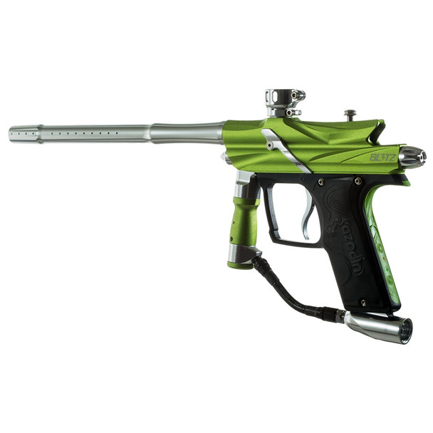 AZODIN Blitz 3 Green-Silver Paintball Marker (BLG3004)