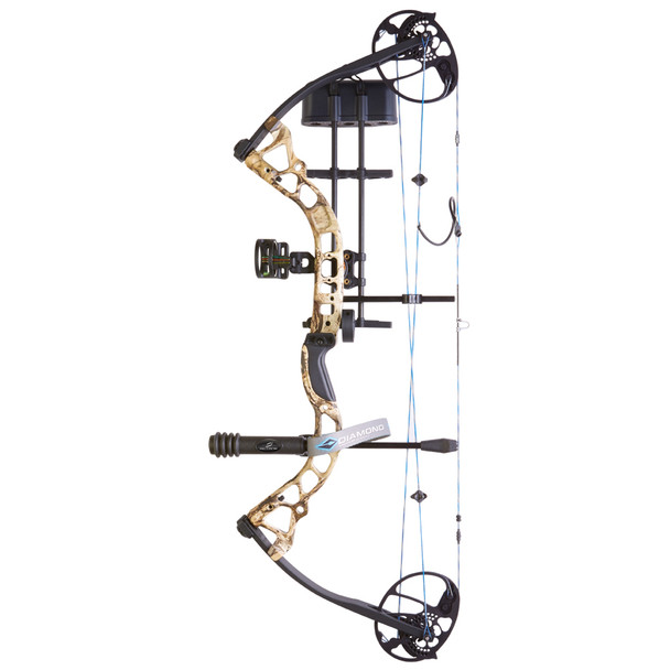 DIAMOND ARCHERY Infinite Edge Pro 31.5in 5-70lb Black Right Hand Compound Bow (A12487)
