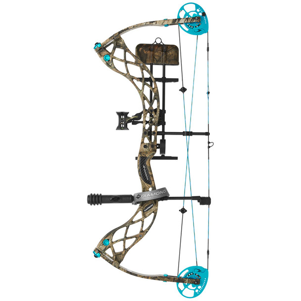 DIAMOND ARCHERY Carbon Knockout 30in 40lb Breakup Country RAK EQ Right Hand Compound Bow (A13376)
