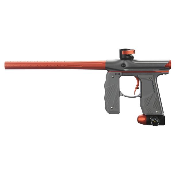 EMPIRE Mini GS Dust Gray-Orange Paintball Marker (17401)