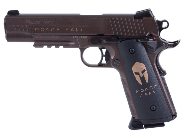 SIG SAUER 1911 Spartan .177 12GR 16rd CO2 BB Pistol (AIR-1911BB-SPARTAN)
