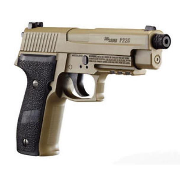 SIG SAUER P226 177mm 12 Gr CO2 FDE Air Pistol (AIR-226F-177-12G-16-FDE)